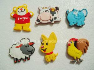 Popular Animal PVC 3D Fridge Magnet pictures & photos
