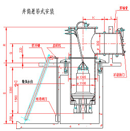 Well Drum Axial-Flow Pump with Wall Pipe and Float Flap pictures & photos