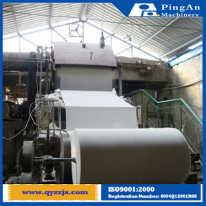 High Speed Upside Down Pulp Tissue Toilet Paper Making Machine