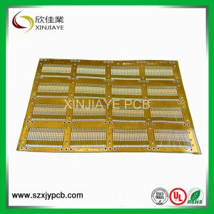 Single Sided Polyimide Material Flexible PCB with Stiffener pictures & photos