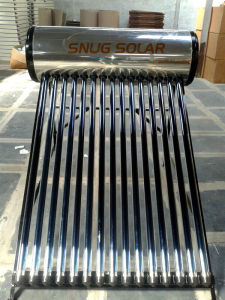 Stainless Steel Ba 304 Low Pressure Solar Heater pictures & photos