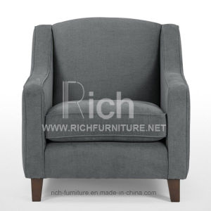 Hotel Sofa Modern Leisure Fabric Sofa (1 Seater) pictures & photos