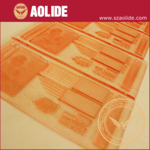 Done Flexographic Printing Plate/ Finished Flexo Plate pictures & photos