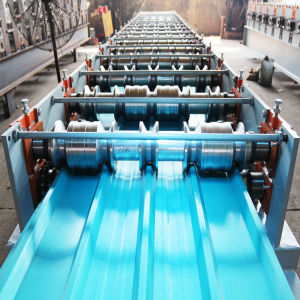 Double Layer Roof Sheet Roll Forming Machine pictures & photos