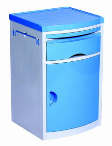 ABS Engineering Plastic Hospital Bedside Cabinet pictures & photos
