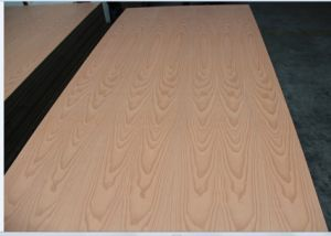 Natural Veneer Beech Fancy MDF From Factory pictures & photos