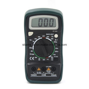 Digital Multimeters Dt-830 pictures & photos