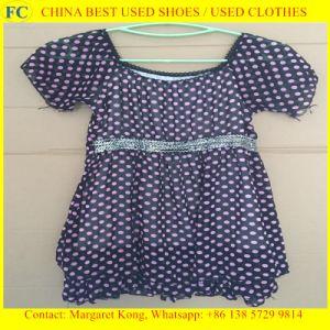 Origin Summer Clothing Second Hand/Ladies Silk Dresse pictures & photos