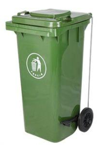 Pedal Plastic Dustbin (120L) pictures & photos