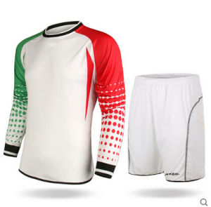 Fashion Design, Colorful Football Goalkeeper Set Jerseys Uniforms Shirts pictures & photos