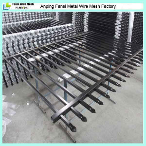 Powder Coated Spear Top Tubular Steel Fence Panels for Au Market pictures & photos