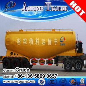 Tri-Axle 50tons 40 Tons 60tons 80tons 90ton Dry Bulk Cement Powder Tanker Semitrailer, 30cbm 40cbm 50cbm 60cbm 70cbm Cement Bulker Tank Carriers Truck Trailer pictures & photos