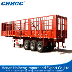 Chhgc Stake Semi-Trailer with Short Locks in Stock pictures & photos