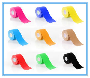 Waterproof Fabric Kinesio Tape Same as Kt Tape (SL-08-012) pictures & photos