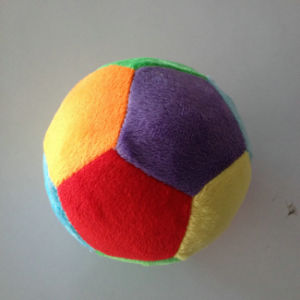 Round Soft Toy Stuffed Soccer Ball Plush Toy for Sale pictures & photos