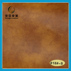 Superior Anti-Mildew and Waterproof Semi-PU Leather (818#) pictures & photos