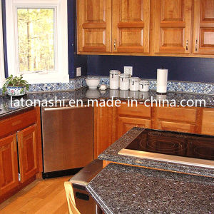 Low Price Chinese Prefabricated Granite Kitchen Vanity Stone Tile Countertop pictures & photos