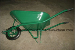 65L France Model Wheelbarrow Wheel Barrow Wb6400 for Angola Market pictures & photos
