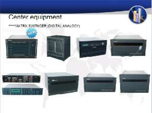 Mature technology ,Economical and steady CCTV video /Auido Matrix Switcher System