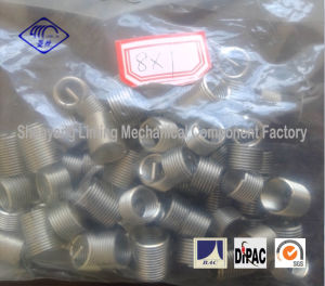 M8X1 Wire Thread Insert Fasteners in Plastic Bag