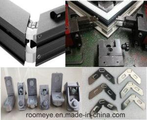 Hot Sale Double Toughened Glass Aluminium Casement Door pictures & photos