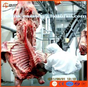 Butchery Machine Abattoir Slaughterhouse Cuttes and Sheeps Slaughter Line Ovines and Bovines Slaughterhouse pictures & photos