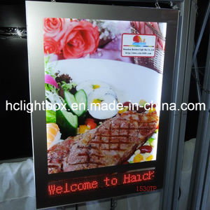 Aluminum Magnetic Frame Light Box with LED Screen