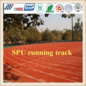 Cn-S03 Factory Supply Professional Spu Running Track with Iaaf Certificate pictures & photos