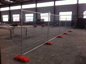 Australia and New Zealand Market Hot Dipped Galvanized Temporary Fence Panels pictures & photos