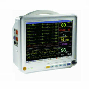 12.1 Inch Multi-Parameter Patient Monitor with CE Certificate (T12) pictures & photos