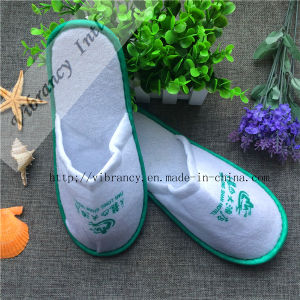 Cheap Wholesale Hotel Disposable Terry Cloth Slippers pictures & photos