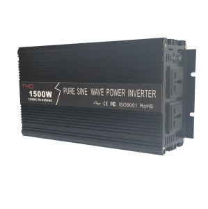 Electric 12V 220V Pure Sine Wave 1500W Solar Panel DC to AC 1.5kw Power Inverter pictures & photos