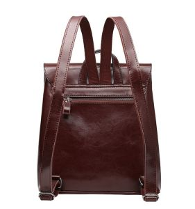 New Fashion PU Leather Travel Backpack for Women pictures & photos