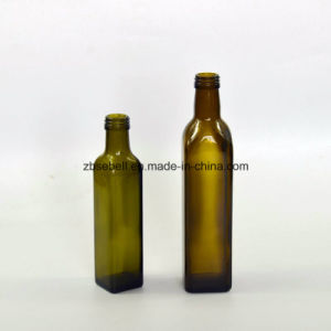 250ml Marasca Glass Olive Oil Bottles with Height 214mm pictures & photos