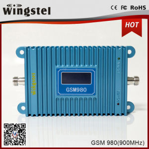 High Gain Blue Color GSM980 Signal Booster 2G Mobile Signal Repeater pictures & photos
