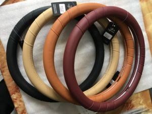 OEM Design High Quality Rubber Steering Wheel Cover pictures & photos