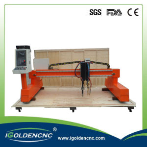 Starfire Comtroller Gantry CNC Plasma and Flame Cutting Machine pictures & photos