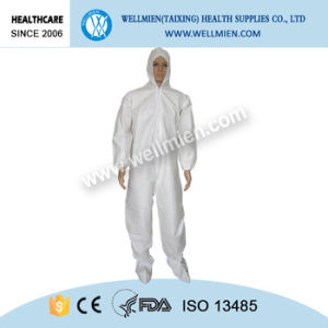 Nonwoven Disposable Protective Coverall with Hood pictures & photos