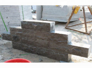 Relief Black Granite Blocks for Outdoor Walls (CS102) pictures & photos