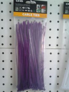 Purple Color Nylon Cable Ties 100 Piece Per Bag pictures & photos