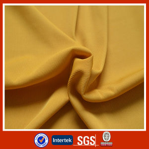 2014 2X2 DTY Polyester Rib Knitted Fabric pictures & photos