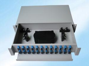 Good Price 12 Port Fiber Optic Patch Panel pictures & photos