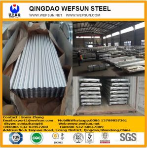 Roofing Corrugated Steel Sheet 0.3mmx900 pictures & photos