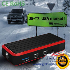 USA Hot 12000mAh Portable Car Jump Starter Power Pack pictures & photos