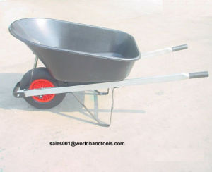 100L Australian Wheelbarrows Wb8602 with Wide Wheel pictures & photos