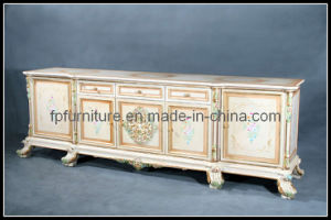 Luxury Hand Carved Royal Floor Cabinet (0106DG)
