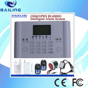 GSM Alarm System with 1200mA Backup Battery, Watchdog Function Home Alarm System (BL6000G)