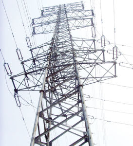 Hot-DIP Galvanized Steel Transmission Tower pictures & photos