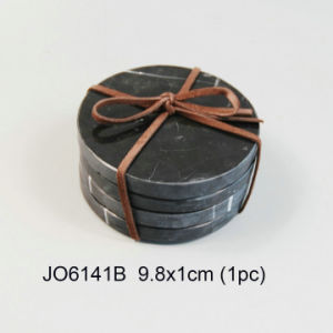 Competitive High Standard Natural Marble Coaster pictures & photos