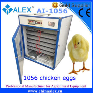 Newest Design Small Industrial Egg Incubator with Biue Strips